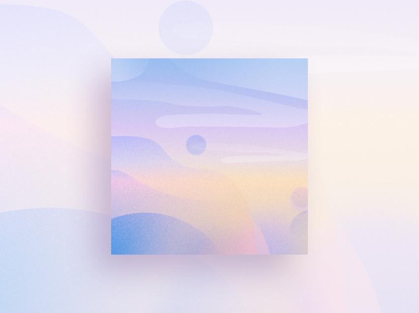 Purple design illustration