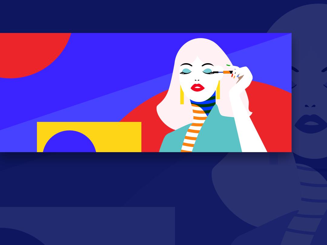 Beauty.2 design illustration