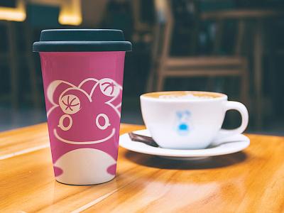 PlumpPlanet Story Coffee Mug Design graphicdesigner graphicdesign brandidentity logo coffeemug productdesign stickerdesign sticker kids character cartoon branding