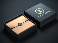 Logo and Package Design for Secret Card