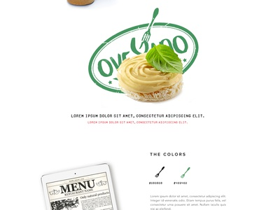 Creative Design - Ovegano creative designer designer brand branding creative design ui ux
