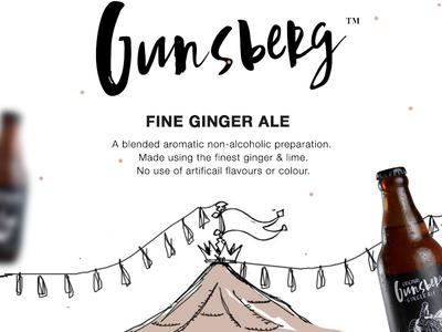 Gunsberg E-mailer creative emailer branding design