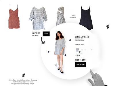 E-commerce Website Branding agency creative designer ux typography cothing eccomerce ui creative design ui ux brand branding creative design