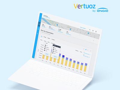 Vertuoz   Smart Manager uiux webapp dashboard ui