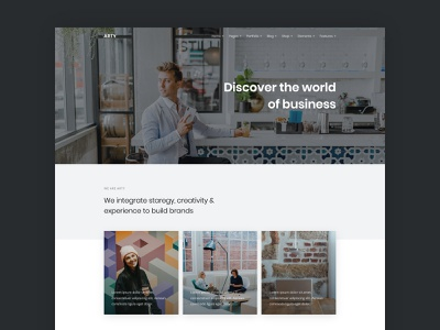 Business web template contemporary bootstrap html5 clean modern web design web template agency corporate business