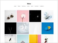 Photographer/Portfolio web template