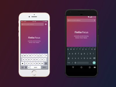 Firefox Focus for iOS & Android
