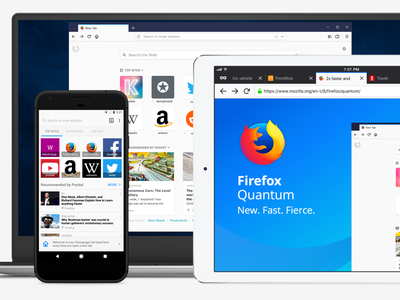 Photon Project on Mobile redesign ux ui refresh photon mozilla mobile firefox app browse ios android