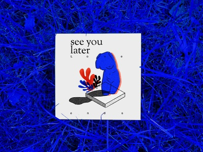 see you later, Summer dear summer shapes scissors red yves-klein memphis matisse mac leaves isometric venus blue