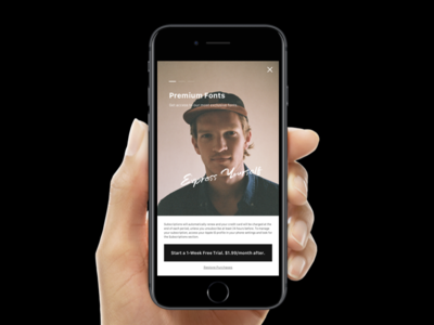 Paywall / pt. I subscription gopremium paywall ux