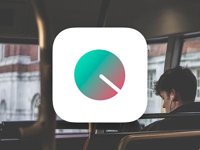 Out Loud logo visualdesign ui iphone ios apple icon app