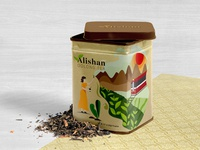 Alishan oolong tea packaging