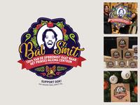 Bal Smit campaign illustration campaign dtp balls christmastree logomark design box print charity balsmit christmas