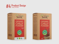 Chilly Powder - Product Design