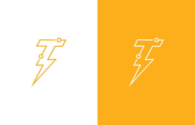 T Tech logo brand logo design geek logo geek technology tech design tech logo t letter logo t letter t logo tech minimal logo logotype typography brand identity branding minimal illustration logo a day logo