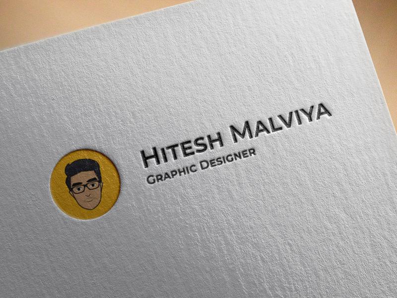 Front page design indian ahmedabad logo designer graphic  design minimal logo illustration frontpage homepage personal branding personal brand brand logo design logo brand identity branding