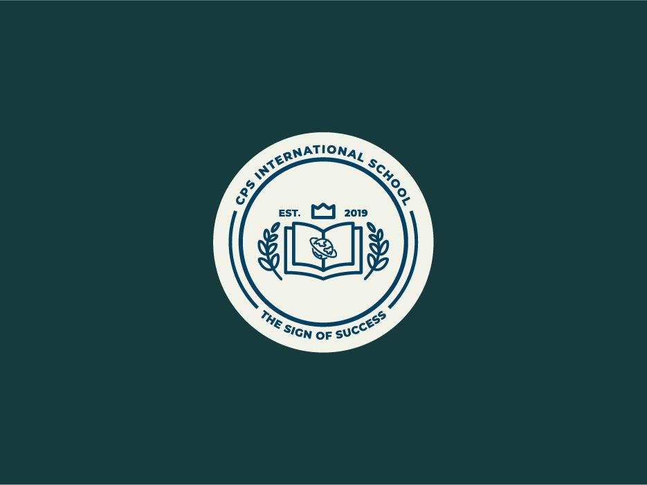 CPS Logo logo design learning school school logo logo branding