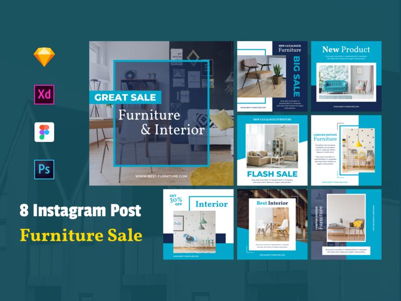 Furniture Instagram Banner Template