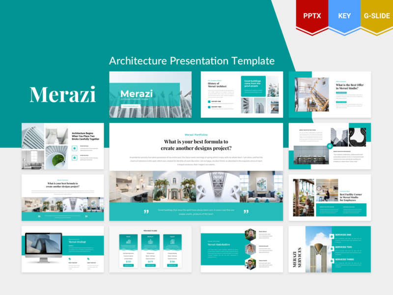 Merazi – Architecture Presentation Template