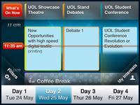 iPhone Schedule App
