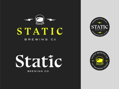 Static Brewing Co. Identity