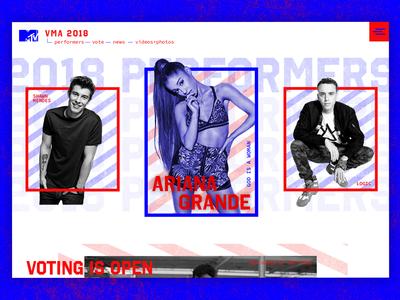 2018 VMA Homepage