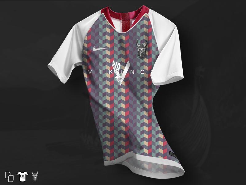 Berserker SC x Nike Concept Kit vikings nike product design kit jersey soccer football