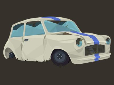 Car Destroy 2 illustration game