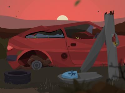 Car Destroy 3 illustration game