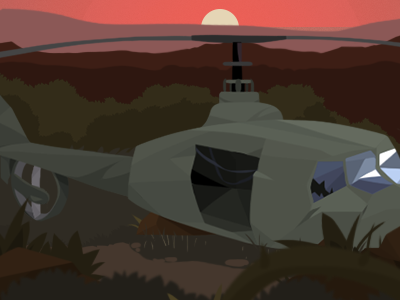 Crash Helicopter illustration game