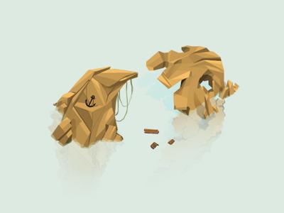 Island 4 illustrations game