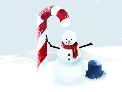 Ice man illustrations