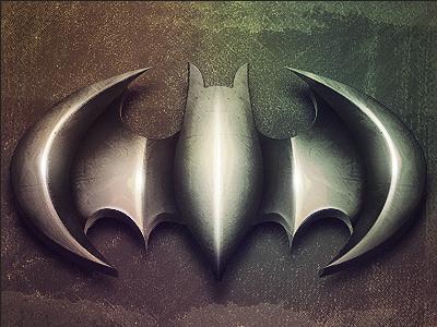 Batman Logo Emblem batman emblem skybrix jesse watt shiny metal grunge. logo deviant