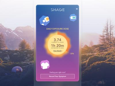 Shade iOS app app ios