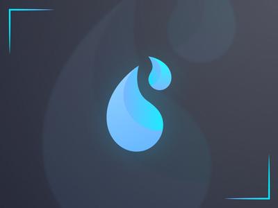 Blue Drop Logo Design