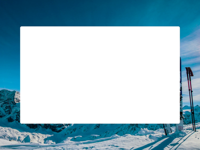 Ski Trip Search Wizard booking ski animated onboard wizard flat ux web design ui