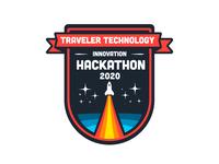 Hackathon Branding design minimal type illustrator vector flat icon logo design logo typography branding
