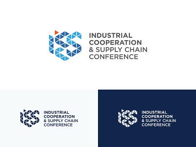 ICSCC industrial supply chain conference branding dubai logo design
