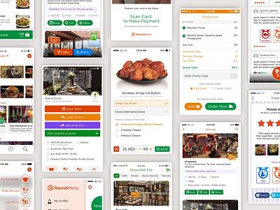 RoundMenu food app food delivery