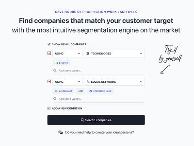 Segmentation & Search Engine tags segmentation engine search engine search segmentation