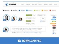 Waaave Bootstrap