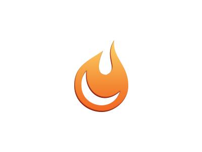 Sparky logo design icon identity brand branding fire spark fireball flame burn warm