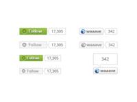 Follow & Share Buttons