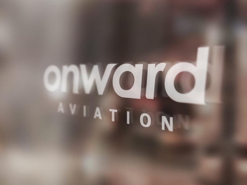 Onward Aviation Brand Identity