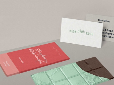 Mile High Klub - Brand Identity & Packaging