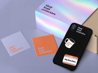 Brand Identity & Packaging - They Boss Collective