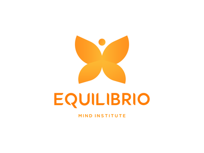 Equilibrio Route 2 concept graphic design bright butterfly rebrand identity branding logo