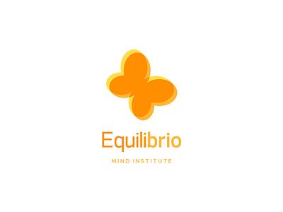 Equilibrio - Final Logo logo design logo branding identity rebrand butterfly bright graphic design