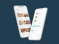Food Ordering App Mockup