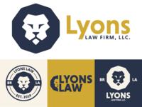 Lyons Law Firm Branding